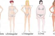 A beleza e as formas do corpo: Você não é uma forma geométrica